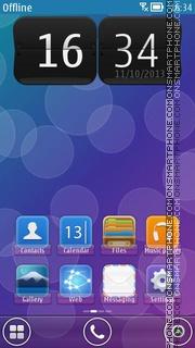 Bubbles 14 theme screenshot