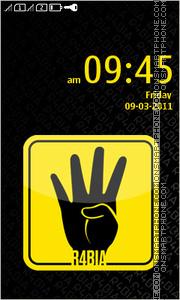 Four Finger Salute theme screenshot