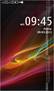 Colorful Abstract HD theme screenshot