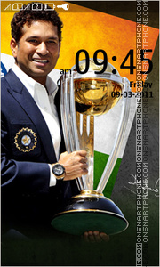 Sachin Tendulkar - Indian Cricketer es el tema de pantalla