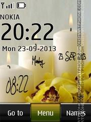 Romantic Evening Digital es el tema de pantalla