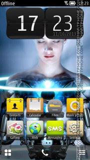 Science Fiction theme screenshot