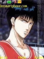 Rukawa Kaede theme screenshot