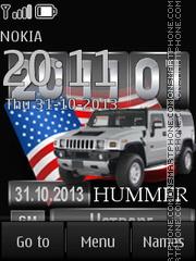 Hummer theme screenshot