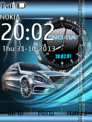 Mercedes S-class theme screenshot