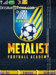 Academy Metalist theme screenshot