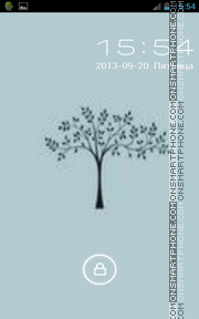 Tree 14 theme screenshot