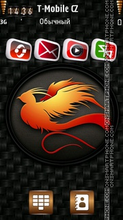 Phoenix 3D theme screenshot