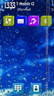 Blue Rain II HD es el tema de pantalla