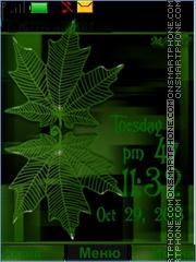 Leaves theme screenshot