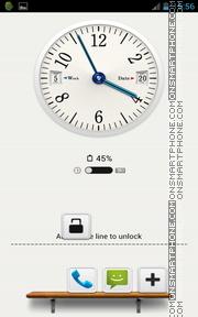 Windows 8 Clock GoLocker theme screenshot
