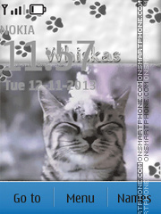 Whiskas theme screenshot