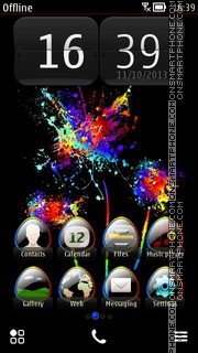 Fireworks 04 tema screenshot