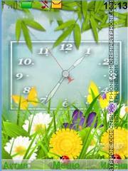 Summer Hours tema screenshot