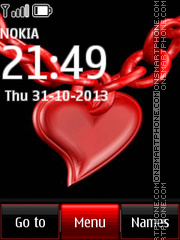 Love Lock theme screenshot