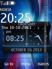 BluePlus tema screenshot