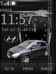 Hyundai Getz By ROMB39 theme screenshot