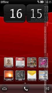 RedWave es el tema de pantalla