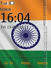India Flag Theme-Screenshot