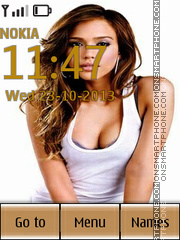 Jessica Alba 44 Theme-Screenshot