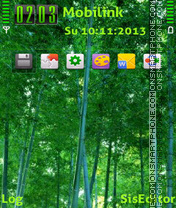 Bamboo forest adam11 theme screenshot