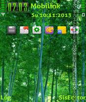 Скриншот темы Bamboo forest adam11