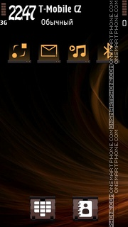 Chocolate 02 tema screenshot