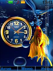 Goldfish es el tema de pantalla