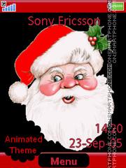 Скриншот темы Father Christmas