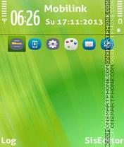 Anna lime theme screenshot