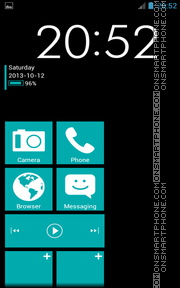 WP7 Plus theme screenshot