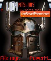 Warrior 01 es el tema de pantalla