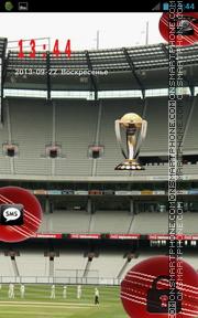 Cricket Go Locker theme screenshot