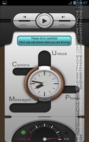 Tiptronic Clock theme screenshot
