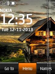 House In Village theme screenshot