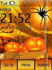 Halloween Pumpkins tema screenshot