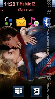 Amazing Spider Man Love Kiss theme screenshot
