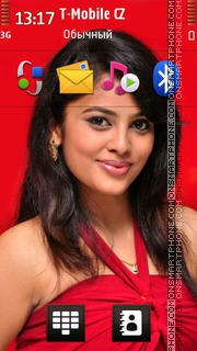 Nanditha theme screenshot