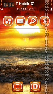 SeaShore HD theme screenshot