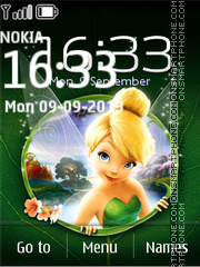Tinker Bell 02 theme screenshot