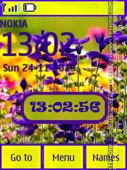Field Flowers theme screenshot