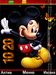 Mickey tema screenshot