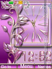 Purple Pattern theme screenshot
