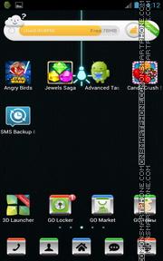 Capture d'écran Black Android Theme thème