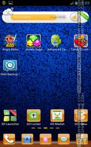 Скриншот темы Orange Icons