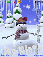 Snowman Theme-Screenshot