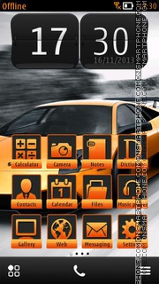 Lamborghini Murcielago 02 theme screenshot