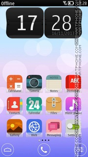 iOS-7 HD theme screenshot