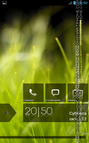 Скриншот темы Windows Green 8 HD Lockscreen