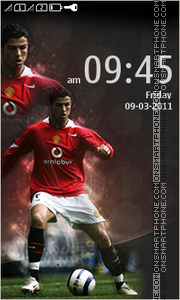 Cristiano Ronaldo 10 theme screenshot
